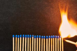 Selbstmotivation entfacht das Feuer...evtl. auch in anderen...