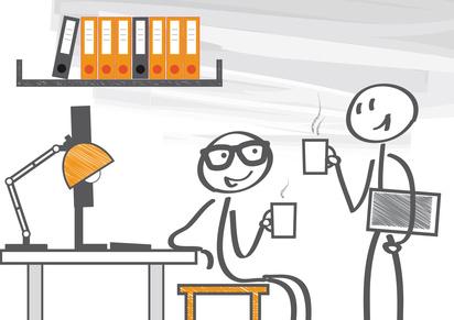 Kaffee Mitarbeitermotivation im Unternehmen